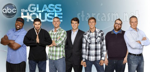 All the male contestants from The Glass House Season 1 on ABC