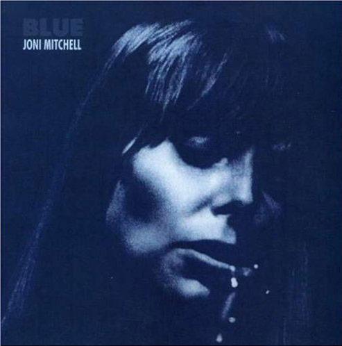 Joni Mitchell Blue album cover