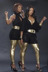 Kandi Burruss and Rasheeda in a sexy PeachCandy photo shoot