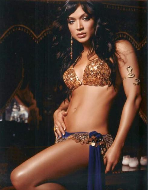 Hollywood exes Mayte Garcia belldancing photo
