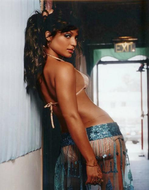 Hollywood Exes Mayte Garcia bikini lingerie photo