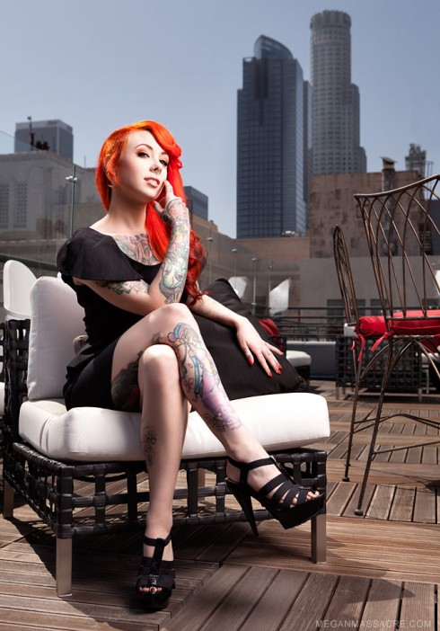 NY Ink tattoo artist and America's Worst Tattoo star Megan Massacre