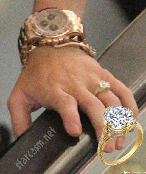 Liam Hemsworth Neil Lane engagement ring