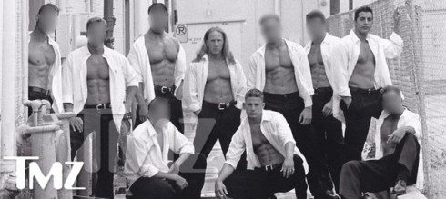 Original Magic Mike dance crew with Channing Tatum, Thomas Awesome Austin and Michael Sorrentino