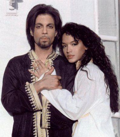 Prince and Mayte Garcia