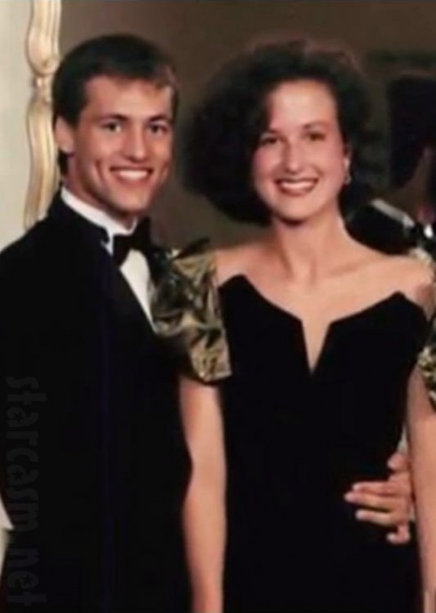 Duck Dynasty's Willie Robertson and wife Korie Robertson prom photo from high school
