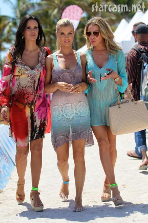 New women of Real Housewives of Miami Karent Sierra Joanna Krupa Lisa Hochstein