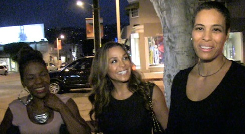 Daphne Wayans with the 'Hollywood Exes'