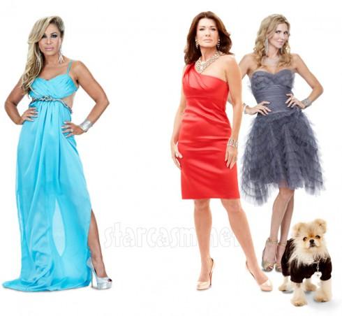RHOBH's Adrienne Maloof Lisa Vanderpump and Brandi Glanville reportedly feuding