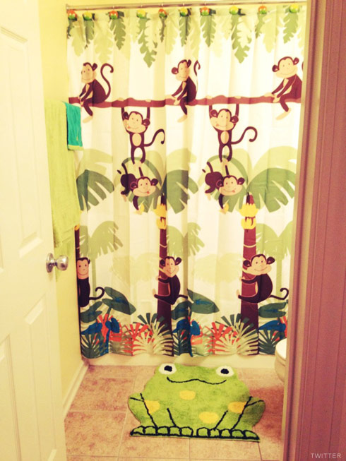 Teen Mom Jenelle Evans tweets a photo of her son Jace's new bathroom