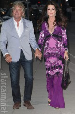 Ken Todd and Lisa Vanderpump at Kyle Richards' Kyle By Alene Too store opening party