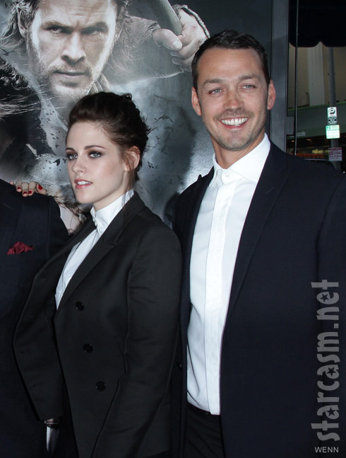 Kristen Stewart and Rupert Sanders together