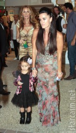 Kyle Richards and daughter Portia Umansky at Kyle By Alene Too store opening party