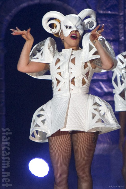 Lady Gaga Born This Way Ball Tour Mother GOAT costume