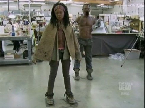 You can be one of Michonne's pets at Comic-Con 2012 as part of AMC's The Walking Dead