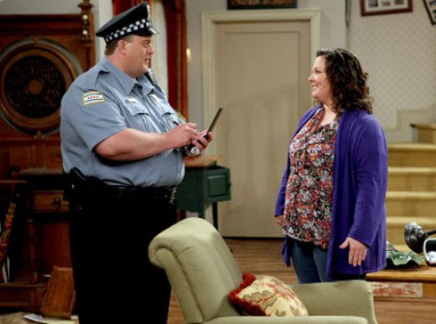 Billy Gardell and Melissa McCarthy as Mike & Molly