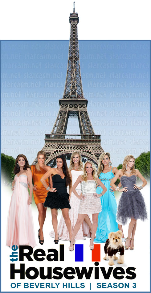 Real Housewives of Beverly Hills are taking a trip to Paris, France in Season 3