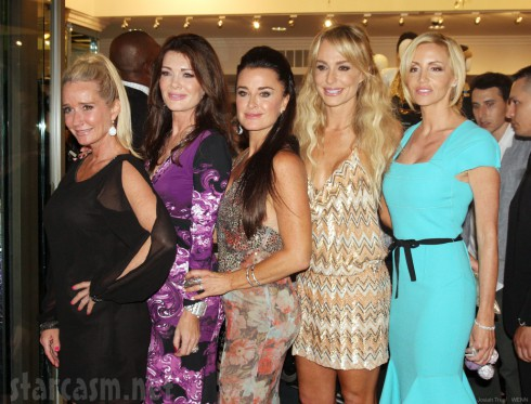 Kyle Richards Kyle By Alene Too store opening with the cast of Real Housewives of Beverly Hills