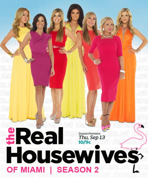 Real Housewives of Miami Season 2 cast photo