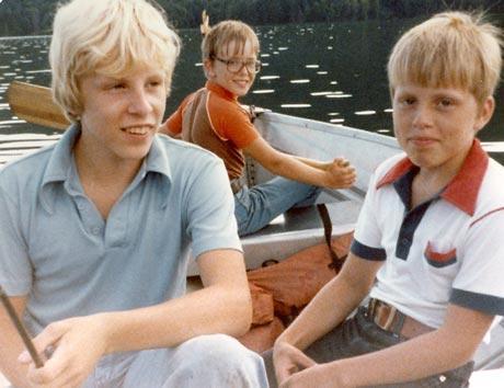 Deadliest Catch's Sig Hansen as a boy with brothers Edgar Hansen and Norman Hansen