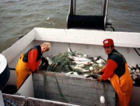 Deadliest Catch's Sig Hansen fishing with father Sverre Hansen