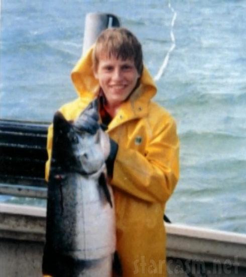 Deadliest Catch Norman Hansen as a young man fishing