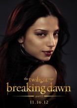 Twilight Saga Breaking Dawn Angela Sarafyan Tia character poster Egyptian coven