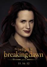 Twilight Saga Breaking Dawn Elizabeth Reaser Esme Cullen character poster