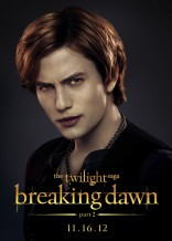 Twilight Saga Breaking Dawn Part 2 Jackson Rathbone Jasper Hale character poster