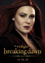 Twilight Saga Breaking Dawn Lisa Howard Siobhan character poster Irish coven