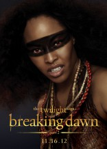 Twilight Saga Breaking Dawn Tracey Heggins Senna character poster Amazonian coven