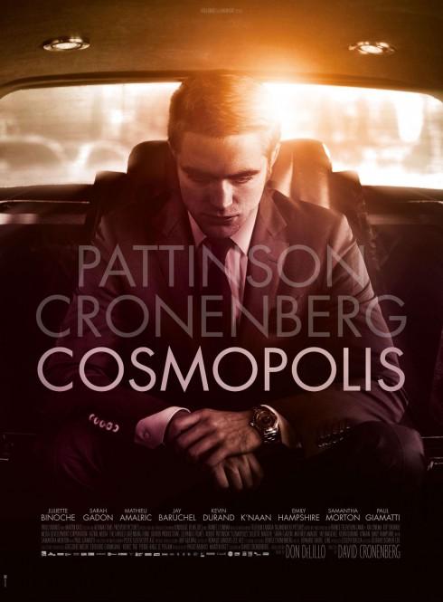 Cosmopolis Poster Robert Pattinson release date August 17