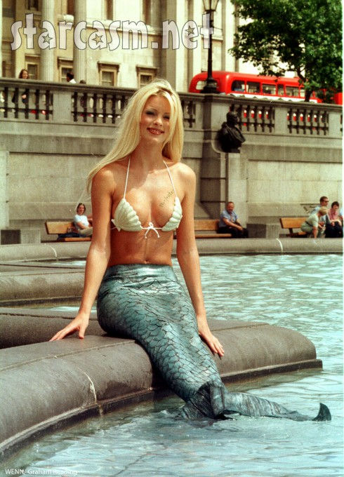 girl in a mermaid suit