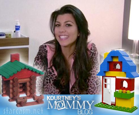 Kourtney Kardashian's Mommy Blog
