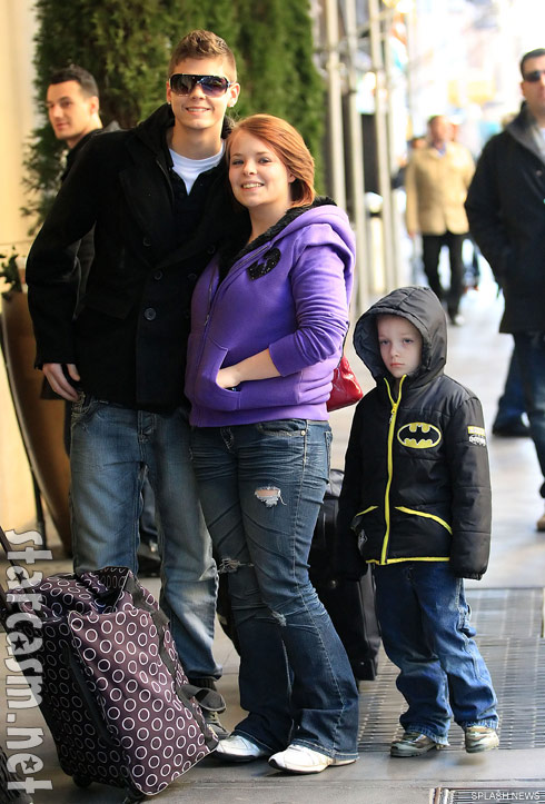 Catelynn Lowell and Tyler Baltierra with her brother Nicholas