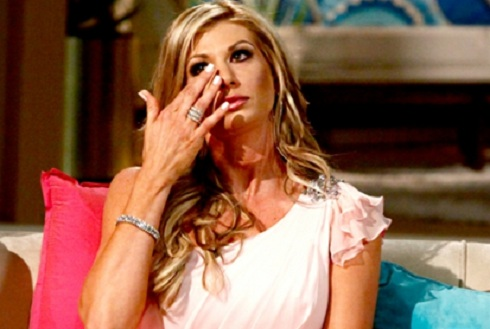 Alexis Bellino in the 'Real Housewives of Orange County' reunion