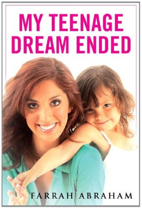 Farrah Abraham's new book My Teenage Dream Ended