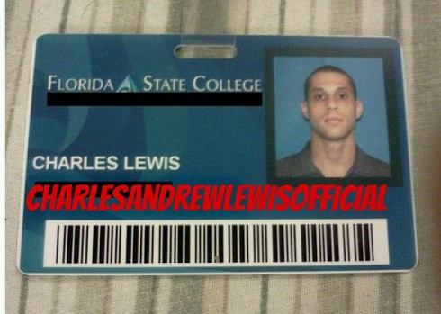 Andrew Lewis college ID card