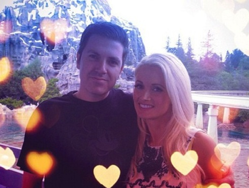 Holly Madison and boyfriend and baby daddy Pasquale Rotella