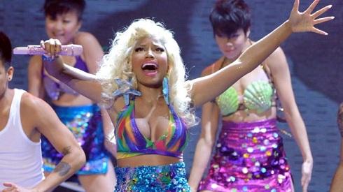 "Nicki Minaj performs onstage at FOX's ""American Idol"""