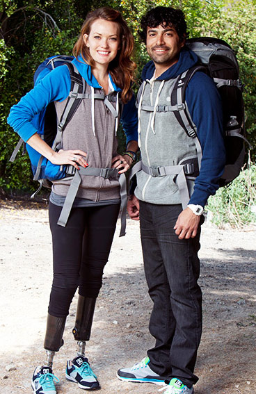 Amy and Daniel from The Amazing Race