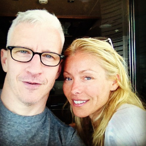 Anderson Cooper with Kelly Ripa in Croatia after breaking up with boyfriend Ben Maisani