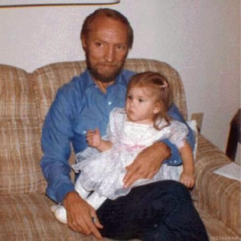Storage Wars Brandi Passante with her grandfather