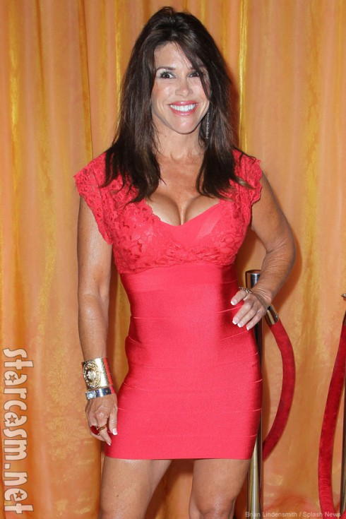 Former Real Housewives of Orange County star Lynne Curtin attends Sunset Strip Music Festival