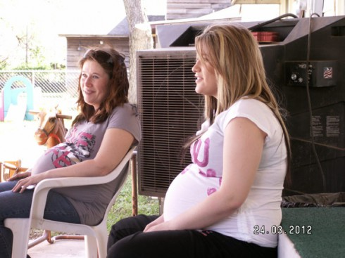 Liz and Ann from TLC's My Teen Is Pregnant And So Am I reality show