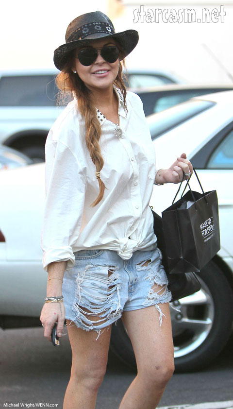 Lindsay Lohan rich
