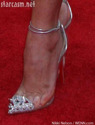 Shaved high heels