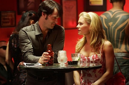 Anna Paquin and Stephen Moyer in 'True Blood'