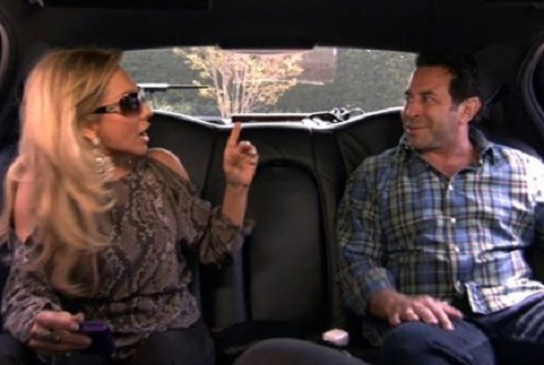 Adrienne Maloof and Dr Paul Nassif on 'Real Housewives of Beverly Hills'