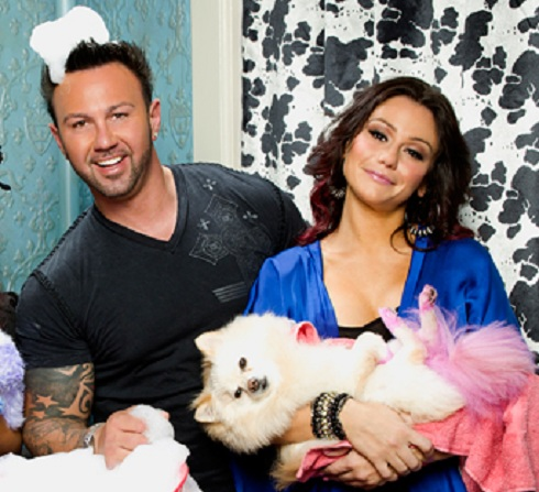 JWoww and Roger Matthews cast photo from 'Snooki & JWoww'